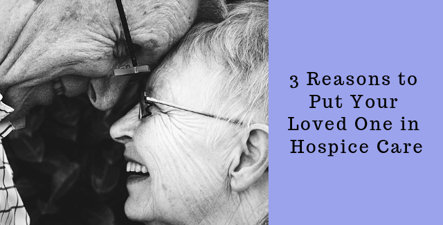 Your Loved One in Hospice Care